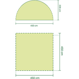 Coleman Event Shelter 4,5x4,5m